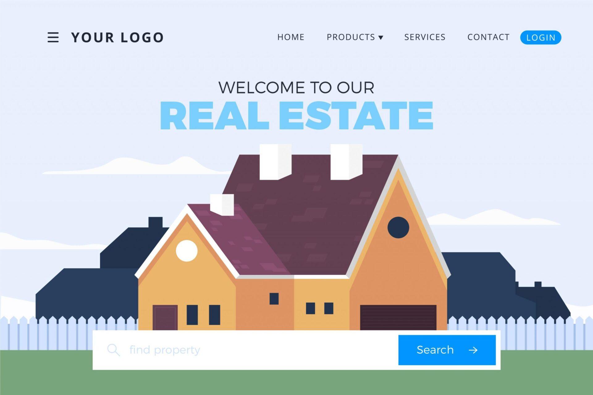 تصميم موقع شركة عقارية هل يجلب المزيد من العملاء ويحقق المزيد من المبيعات