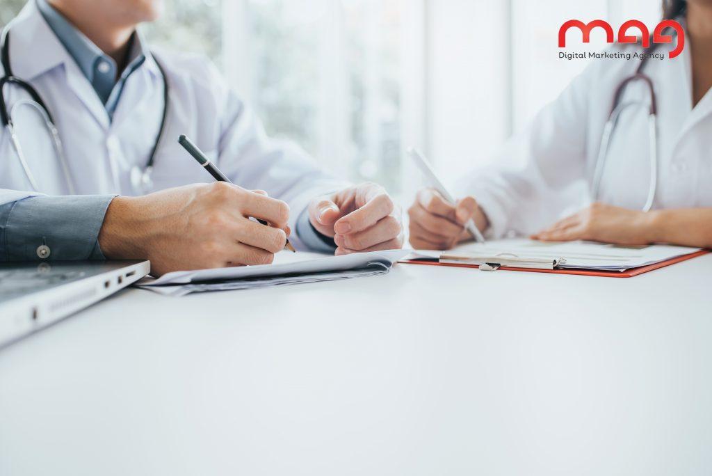 أنواع كتابة المحتوى الطبي
