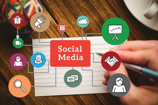 خدمة إدارة وسائل التواصل الاجتماعي