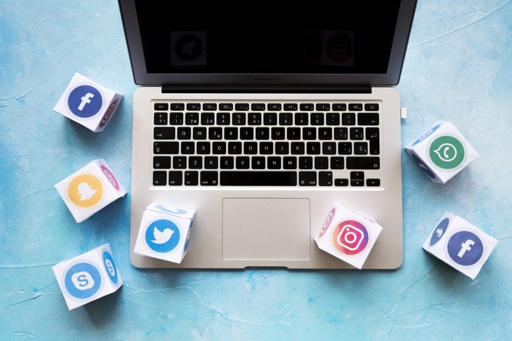 manage social media pages